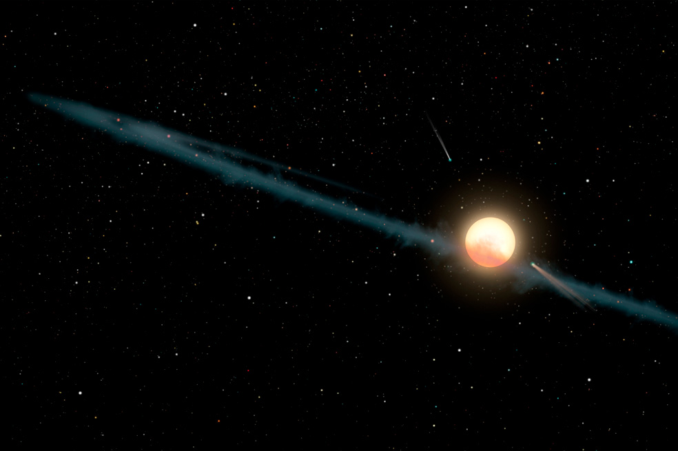 Los motivos de la estrella más misteriosa del Universo