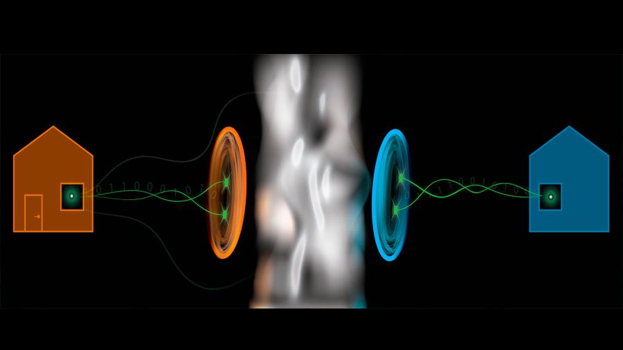 La 'acción fantasmal a distancia' cuántica se hace práctica