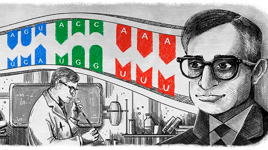 Har Gobind Khorana, el bioquímico que contribuyó en la comprensión del ADN