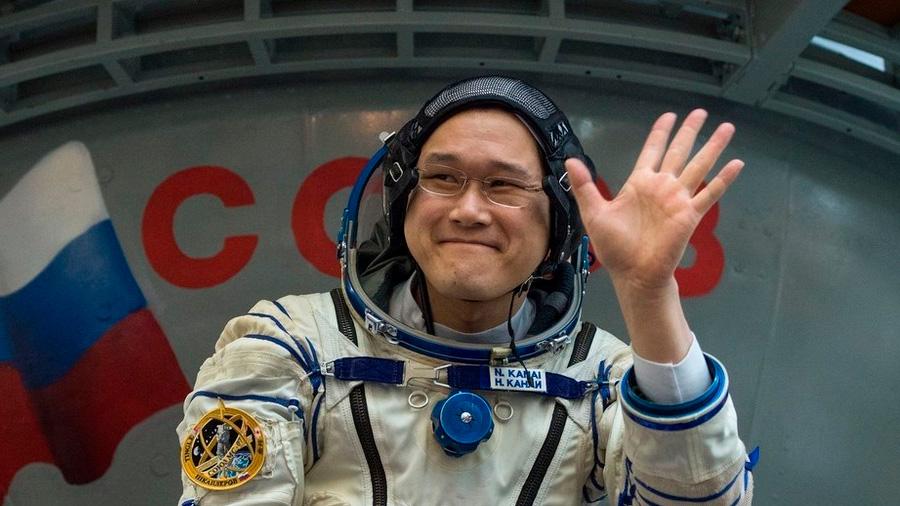 El astronauta japonés Norishige Kanai crece nueve centímetros en el espacio
