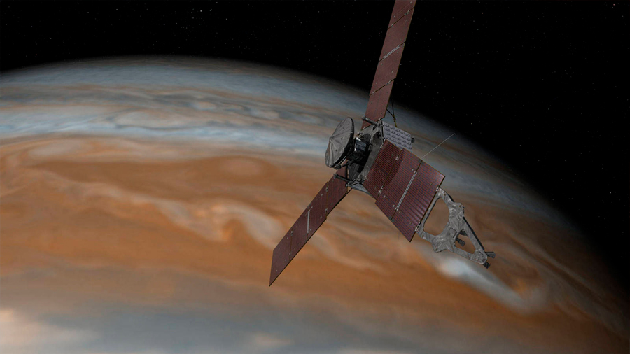 La misión Juno ha revelado una equivocación total con Júpiter