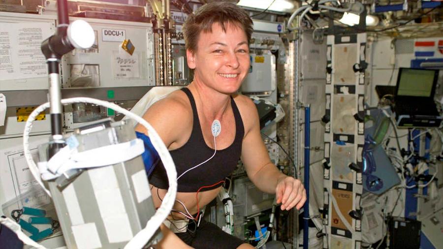 La ingravidez sube la temperatura de los astronautas hasta 40 grados