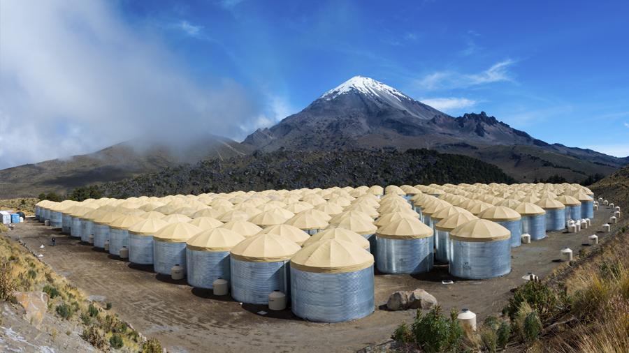Científicos mexicanos detrás de los sensores de profundidad en el Observatorio de Rayos Gamma HAWC