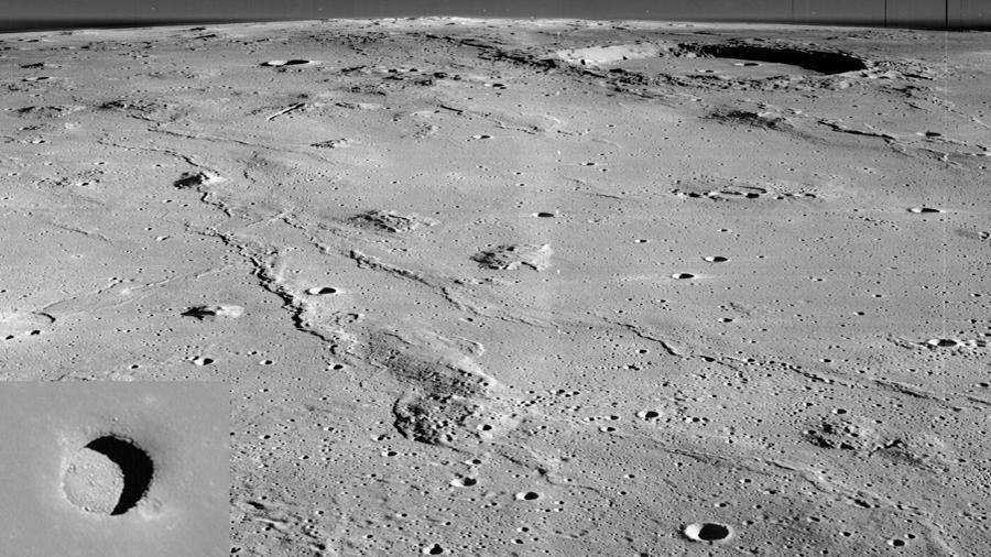 Científicos de la NASA descubren misteriosos pasadizos en la Luna