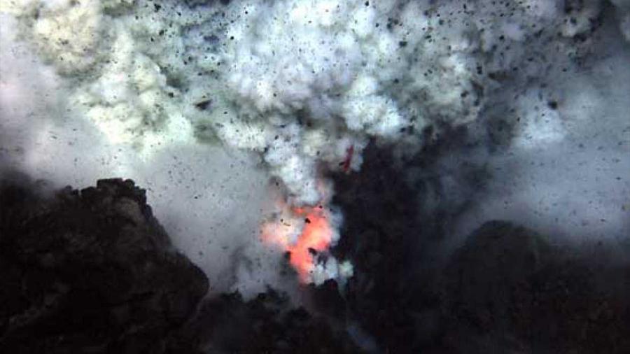 La erupción submarina más grande de la historia