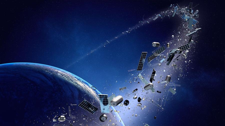 ¿Láseres para acabar con la basura espacial? Investigadores chinos lo ven factible