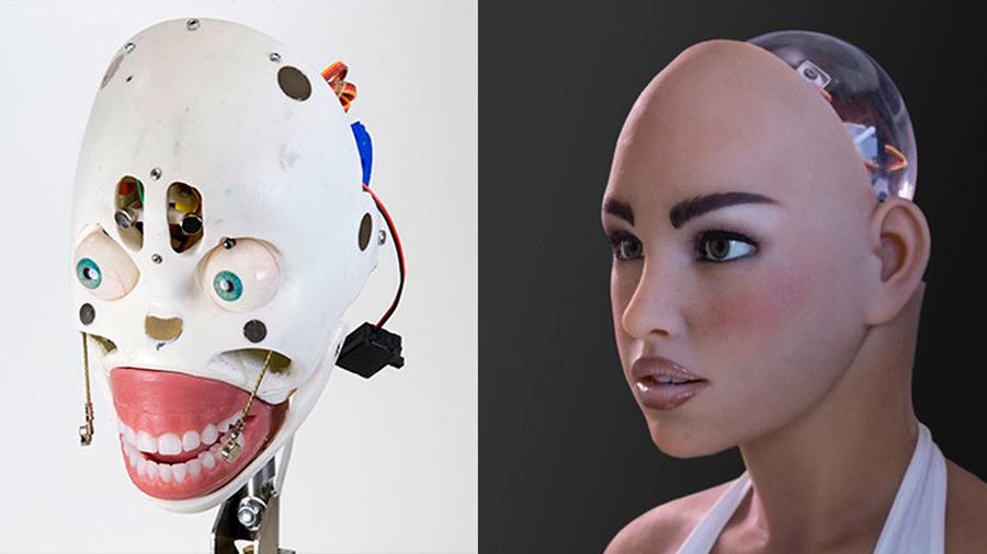 Crean una muñeca-robot sexual con caras intercambiables