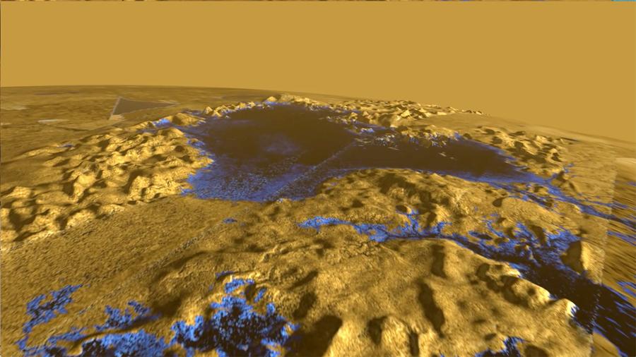 """La Luna de Saturno """"Titán"""" tiene otra característica en común con la Tierra: sus mares mantienen el mismo nivel"""