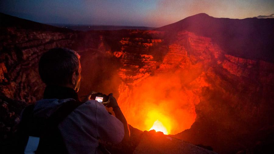 Científico mexicano estudiará lago de lava en volcán Masaya de Nicaragua