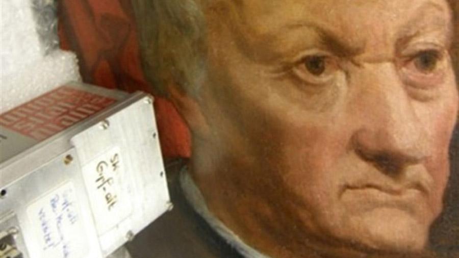 Así es como la ciencia ayudó a recuperar una pintura robada por los nazis