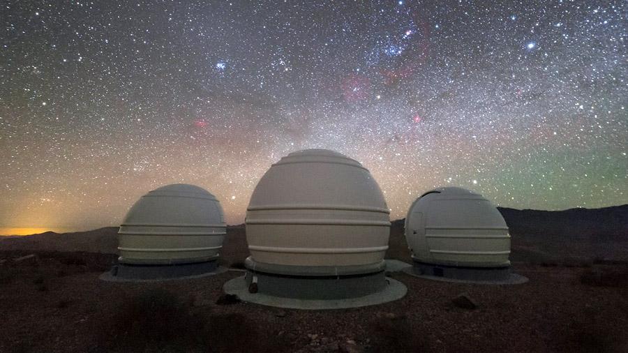 Los telescopios europeos que buscan planetas habitables