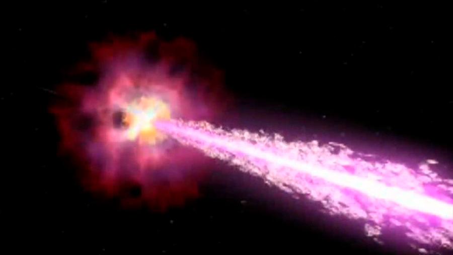 Investigadores consiguen, por primera vez, recrear en laboratorio una versión en miniatura de un estallido de rayos gamma