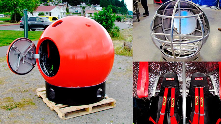 Ingenieros de Seattle diseñan una cápsula que protege de fenómenos naturales
