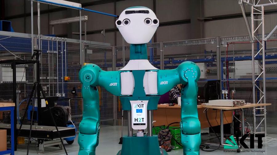 Europa crea el robot más capaz de asumir el trabajo manual humano