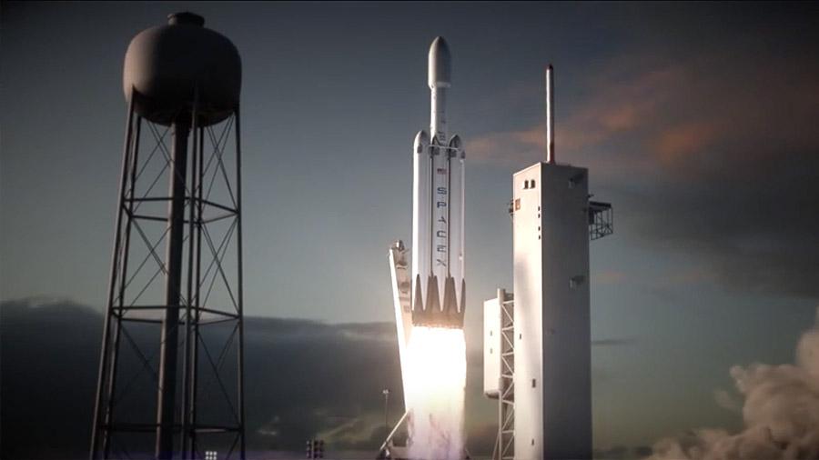 Cuenta atrás para el lanzamiento del supercohete que puede llevar al hombre a Marte