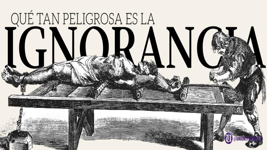 ¿Qué tan peligrosa es la ignorancia de la ciencia?