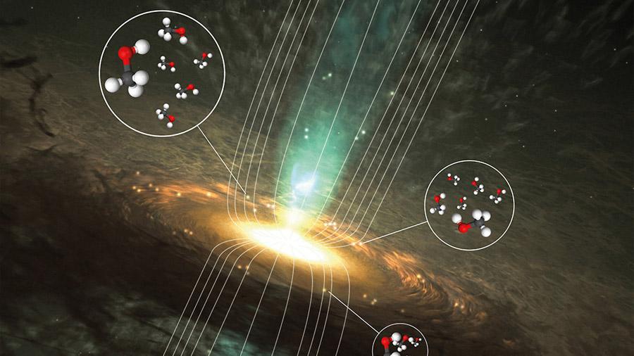 Astroquímicos revelan los secretos magnéticos del metanol