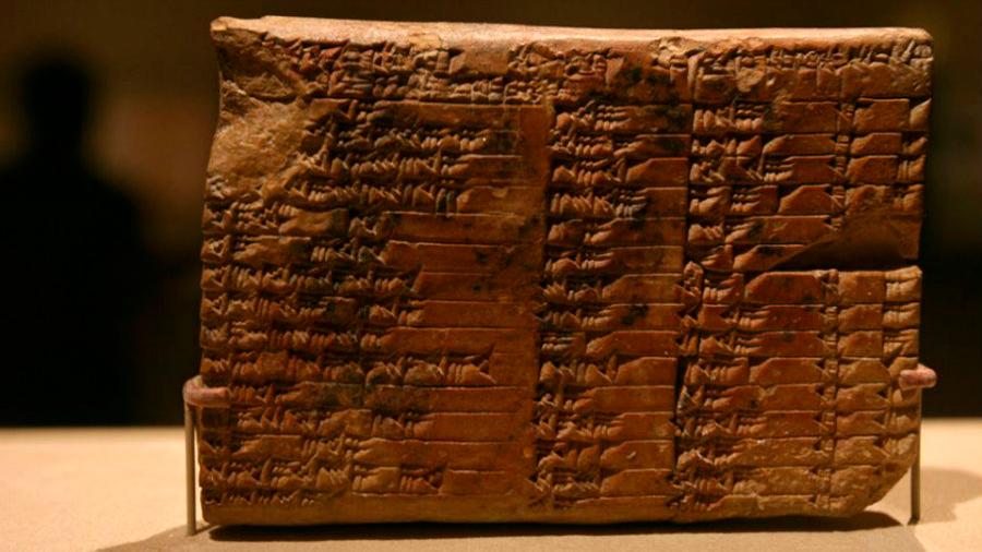 Los babilonios que se adelantaron mil años al teorema de Pitágoras
