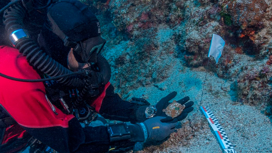 Los secretos que guarda un naufragio de hace dos mil años