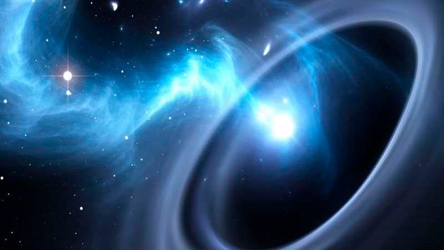 Los agujeros negros precesan. Albert Einstein tenía razón