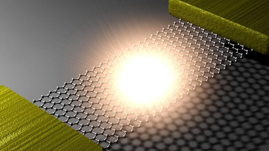 El grafeno gana enteros como emisor de luz en comunicaciones ópticas