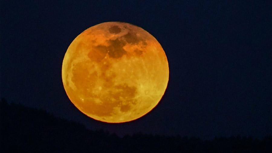¿Se perdió el eclipse lunar? Véalo en un video de 60 segundos