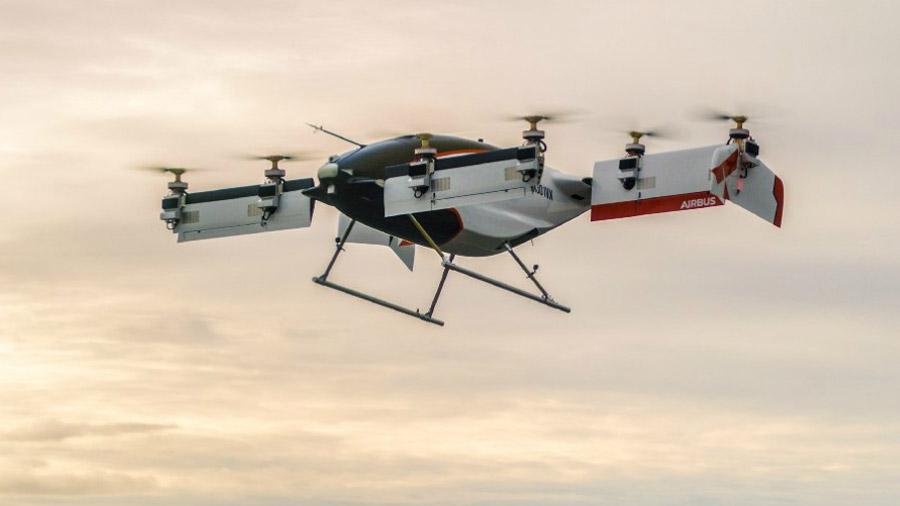 El taxi aéreo no tripulado de Airbus realizó su primer vuelo