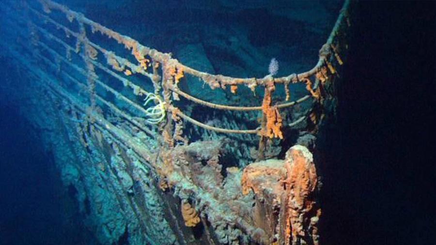 Halomonas, la bacteria que está devorando el Titanic