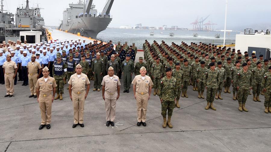 Ejecutivo Federal solicita al Senado autorización para permitir salida de elementos de la Armada de México