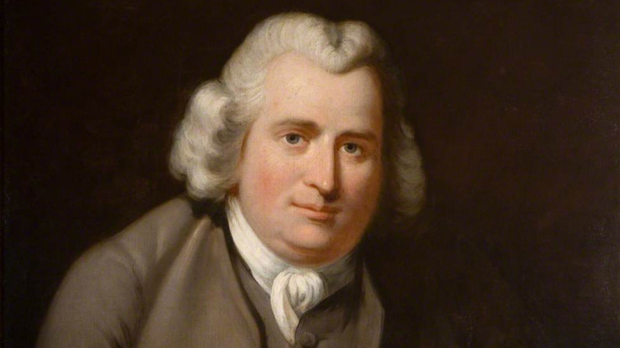 El erudito y erótico Erasmus Darwin, a quien su nieto Charles eclipsó