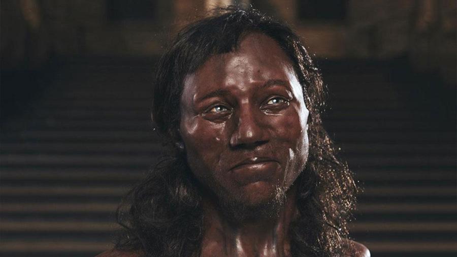 El primer británico era negro y tenía los ojos azules