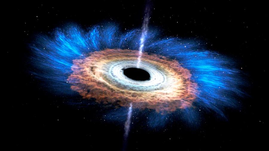 Los científicos esperan poder captar la primera imagen real de un agujero negro este año