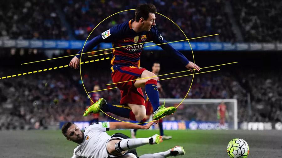 ¿Puede la ciencia explicar el endiablado dribbling de Lionel Messi?