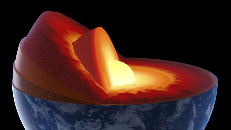 Los científicos ante la encrucijada de que no hallan explicación para el núcleo sólido de la Tierra