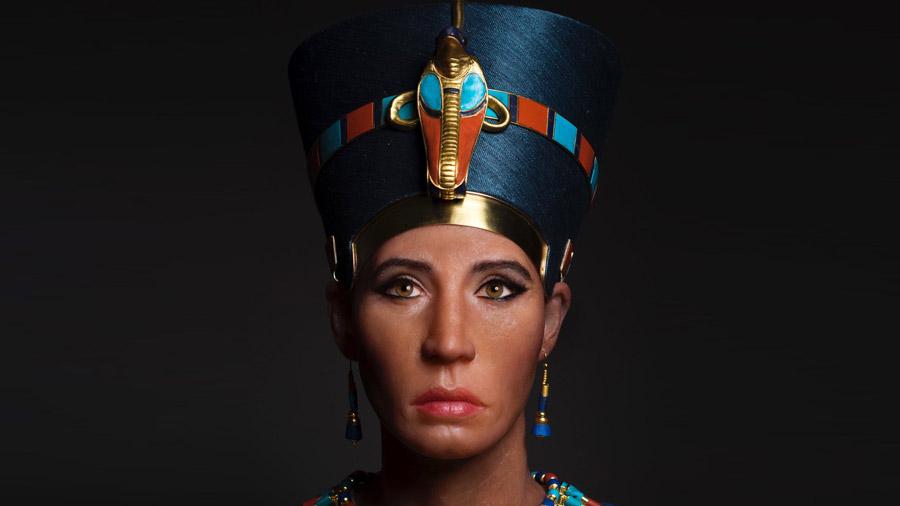 Así era el 'rostro real' de la reina Nefertiti según la tecnología 3D
