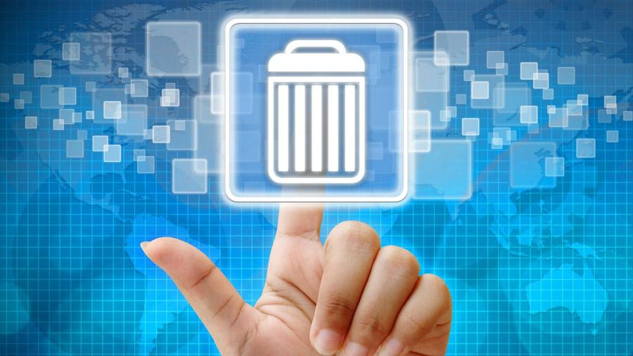 Los pasos a seguir para borrar todo nuestro pasado en internet