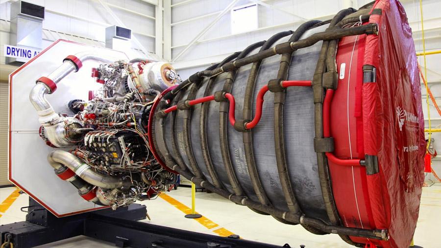 El motor que llevara al hombre a marte: 12 millones de caballos de fuerza