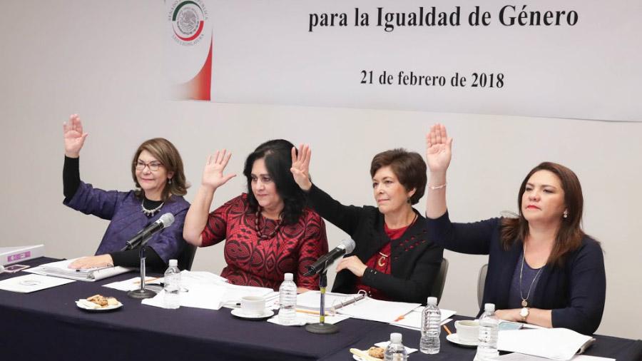 """El reconocimiento """"Elvia Carrillo Puerto"""" para María Elena Chapa Hernández por su lucha por la paridad e igualdad de género"""