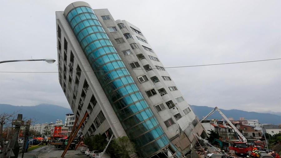 El epicentro de un gran terremoto se hace seguro durante algún tiempo