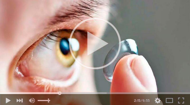 Diseñan lentes de contacto que se disuelven en el ojo y libera fármaco