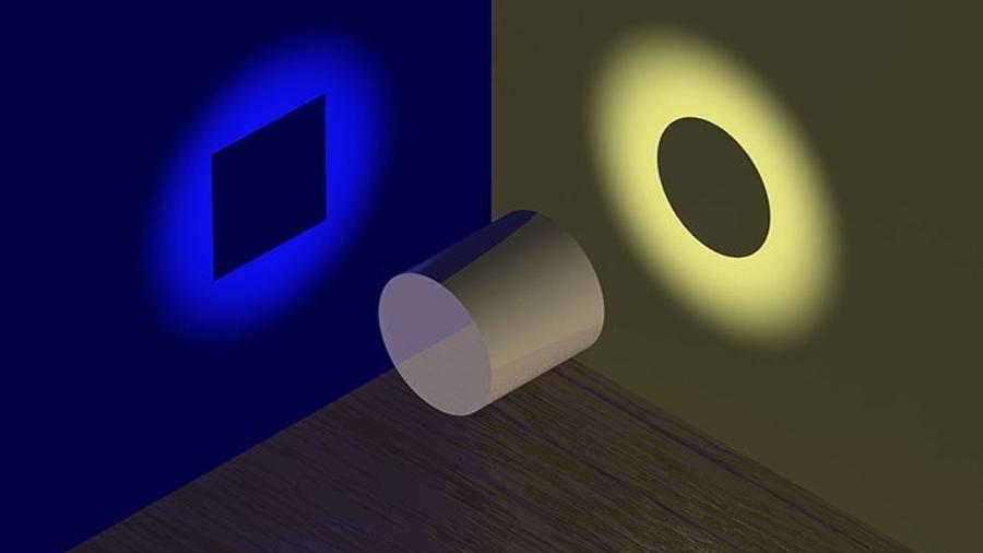Una partícula cuántica puede moverse en dos sentidos con la misma señal