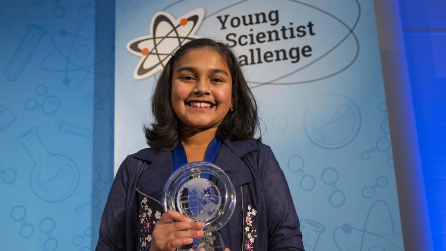 Esta niña de 12 años ganó el premio a la mejor científica joven de EU