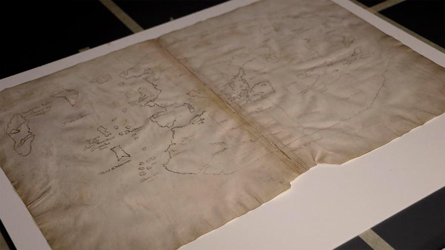 Someten a prueba científica el mapa que atribuye a escandinavos el descubrimiento de América