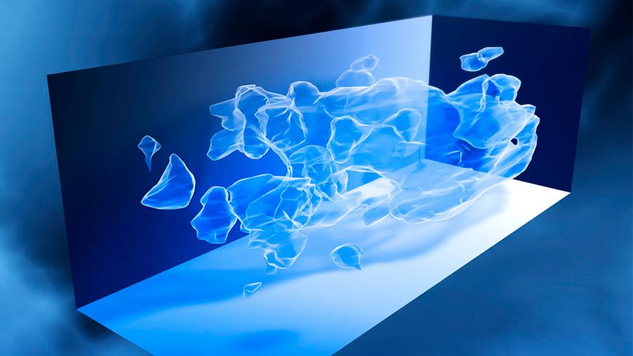 Presentan científicos un mapa de materia oscura amplio y nítido sin precedentes