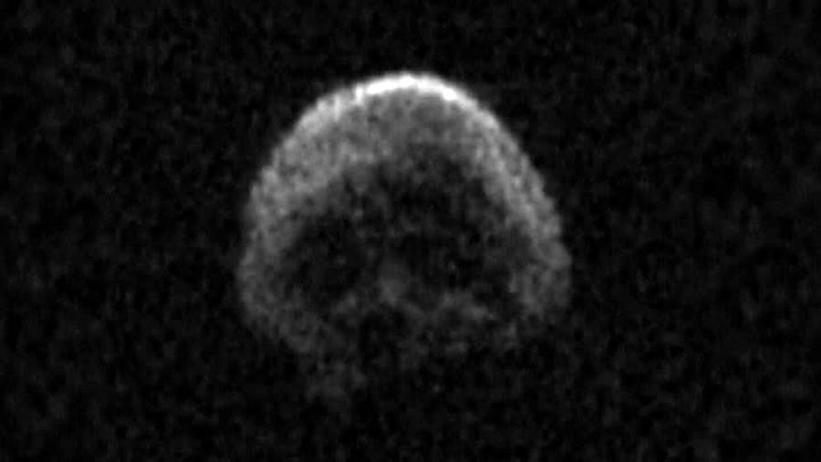 """Revelan nuevos datos del asteroide """"Calavera"""" cuyo retorno en 2018 ya está trazado"""