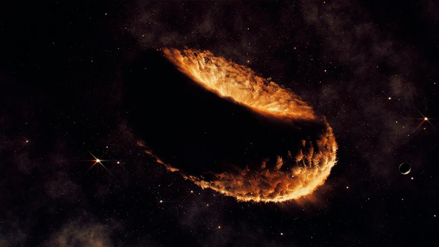 Nueva teoría sobre la formación de la Luna: todo empezó con una nube