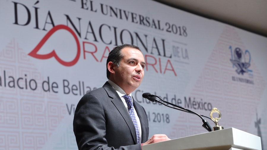 Exhortó Ernesto Cordero al INE a permitir debates entre candidatos presidenciales