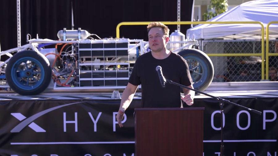 Elon Musk obtiene el primer permiso para su Hyperloop entre Washington y NY