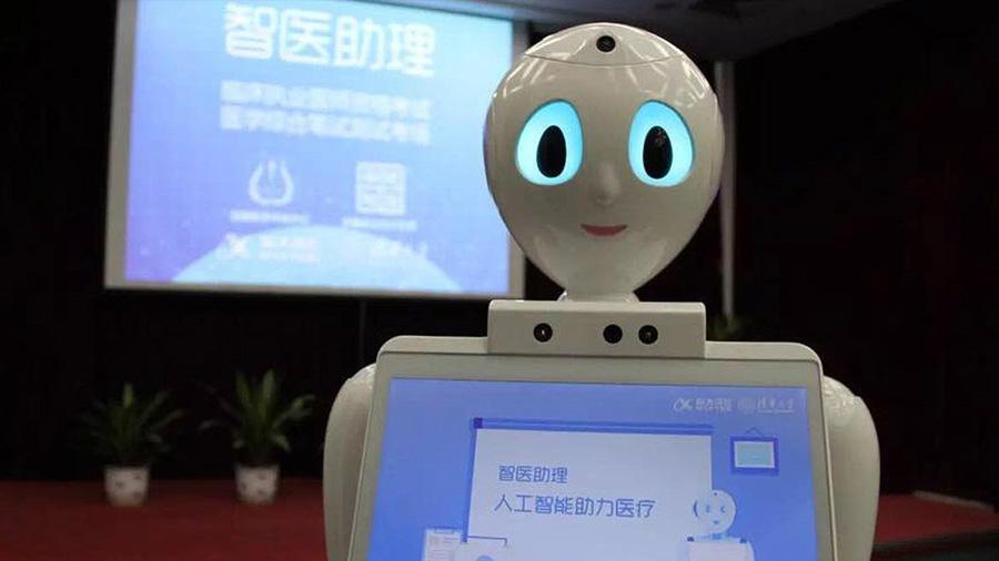 Robot médico comenzó a trabajar en centro de salud en China