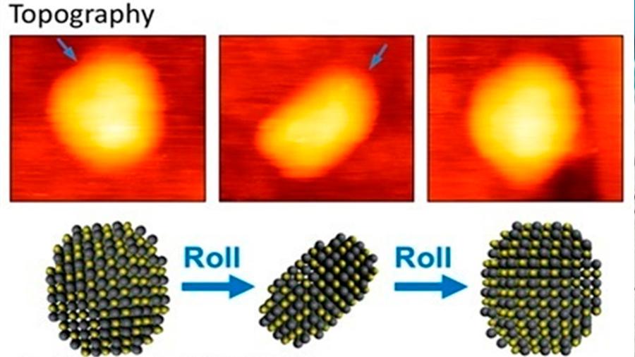 Primeras imágenes 3D de puntos cuánticos